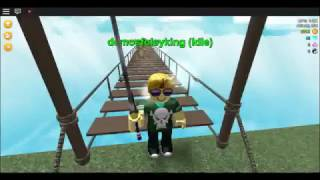 roblox ~ playing a game like   slash mob