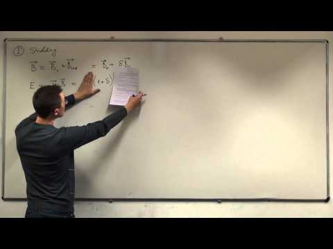 Spin Dynamics - Spin interaction Hamiltonians, part I