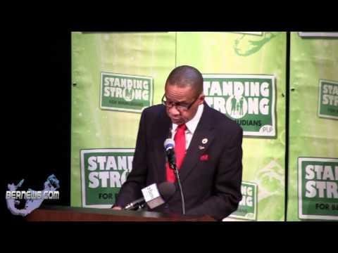 Dale Butler At PLP RSJ Event, Oct 17 2012
