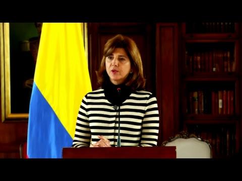 Declaraciones de la Canciller Holguín sobre Venezuela