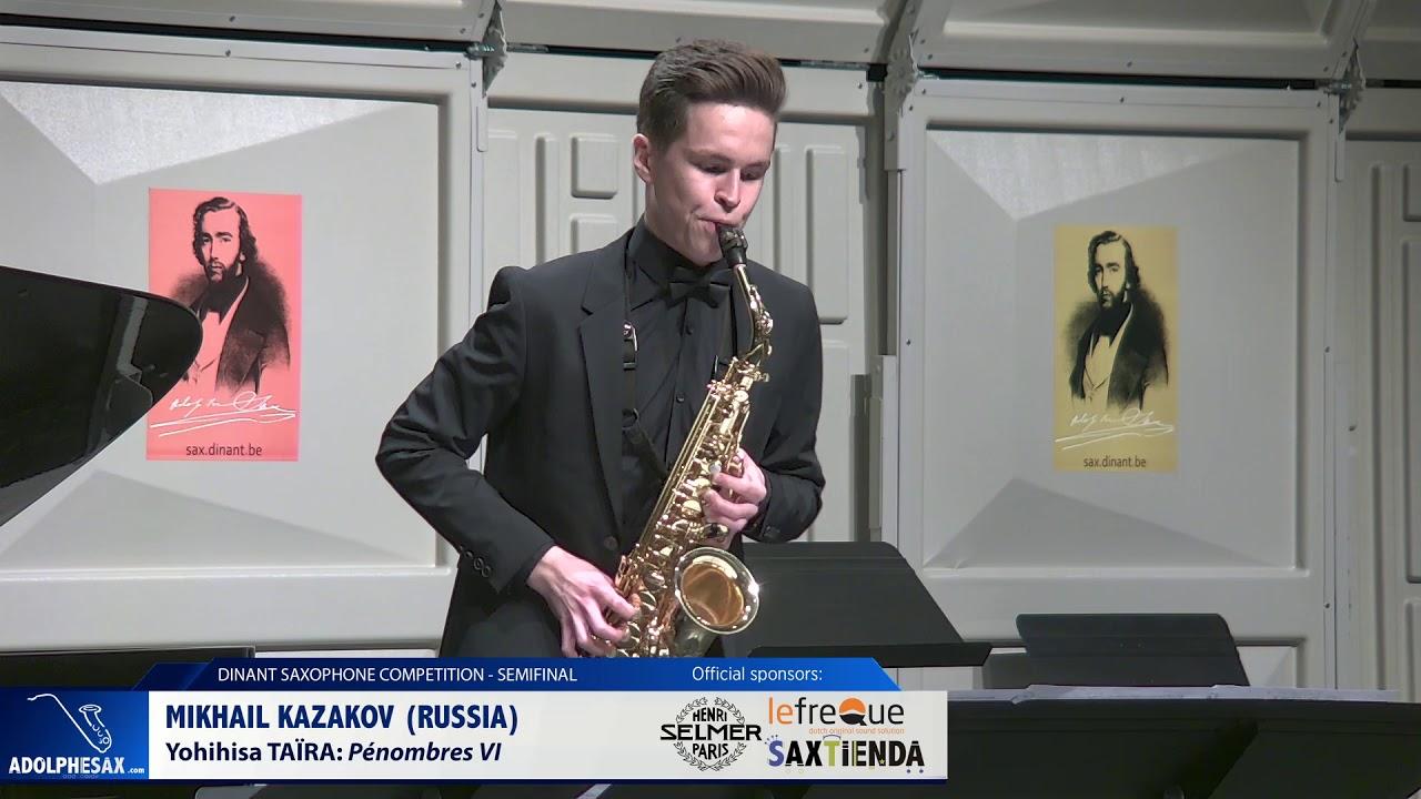 Mikhail Kazakov (Russia) - Pénombres VI by Yoshihisa Taïra (Dinant 2019)