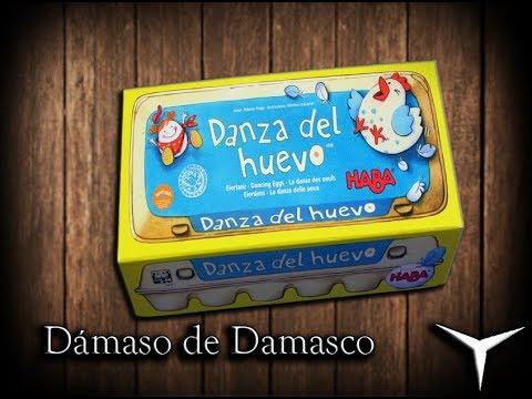 Unboxing La Danza del Huevo (Juego de mesa-Español) // Juguemos: 319