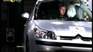 Краш-тест и видео краш-тест Citroen C4 (Ситроен С4) - Автомобильный информационный портал - AutoTurn.ru