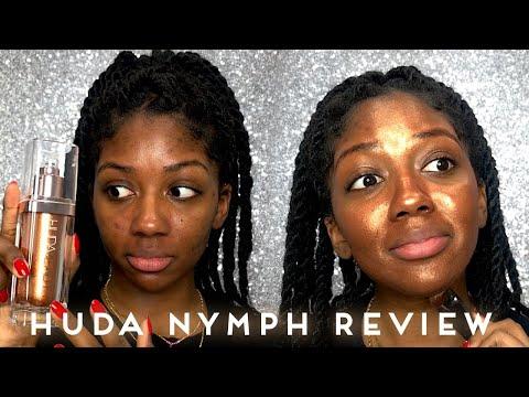 Huda NYMPH Aurora Review | WOC Makeup Review | Niara Alexis