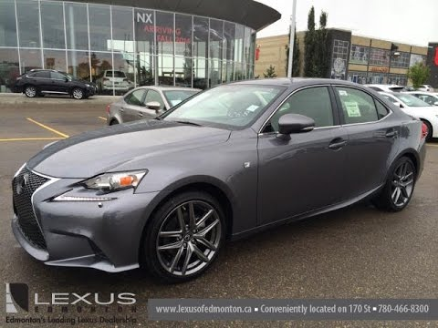 new grey on black 2015 lexus is 250 awd f sport series 2. Black Bedroom Furniture Sets. Home Design Ideas
