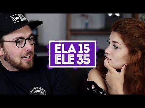 NAMORAR ALGUÉM MAIS VELHO?   ft. Ellora Haonne