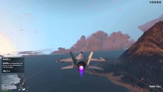 Grand Theft Auto V Bermuda triangle