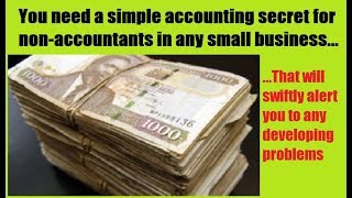 Small Business Accounting Secret For Non-Accountants. SIMPLE.