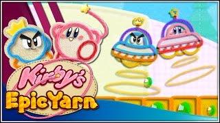 Nuestro primer vecino!!! | 02 | Kirby's Epic Yarn con @Dsimphony
