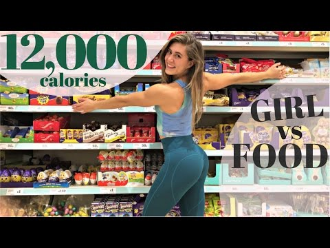 10,000 + CALORIE CHALLENGE || GIRL vs FOOD || EPIC CHEAT DAY