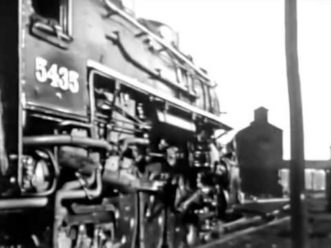 """The Steam Locomotive"" 1940's New York Central RailRoad Film"