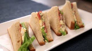 Egg Mayonnaise Sandwich | Quick & Easy Snack Recipe | Curries And Stories With Neelam