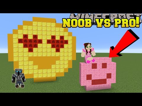 Minecraft: NOOB VS PRO!!! - GUESS THE BUILD! - Mini-Game thumbnail