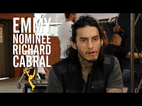 'American Crime's' Richard Cabral Tears Up as He Describes Gang Upbringing