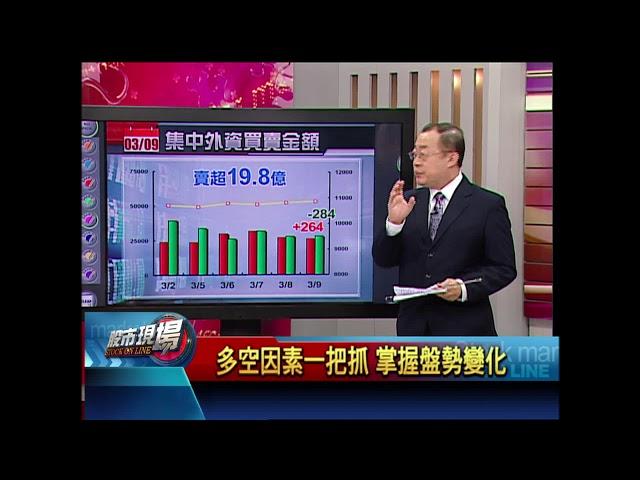 【股市現場-非凡商業台鄭明娟主持】20180309part.2(戴興明)多空因素一把抓 掌握盤勢變化