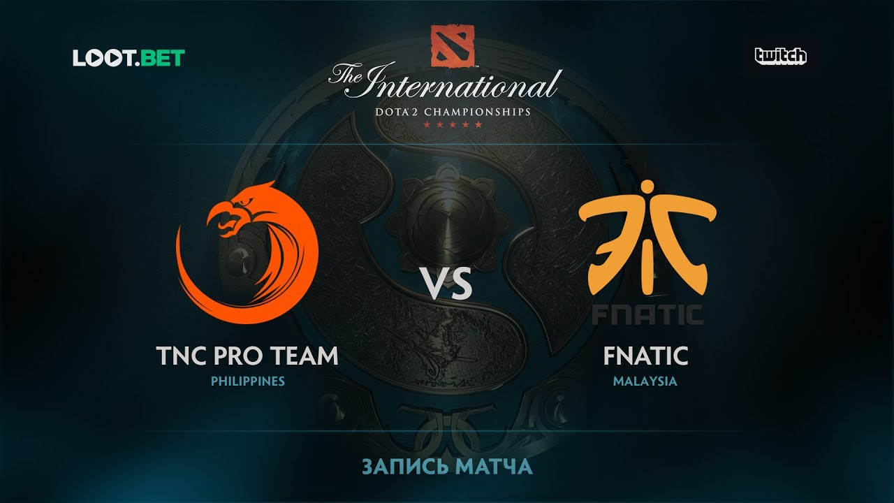 TNC Pro Team vs Fnatic, The International 2017 SEA Qualifier