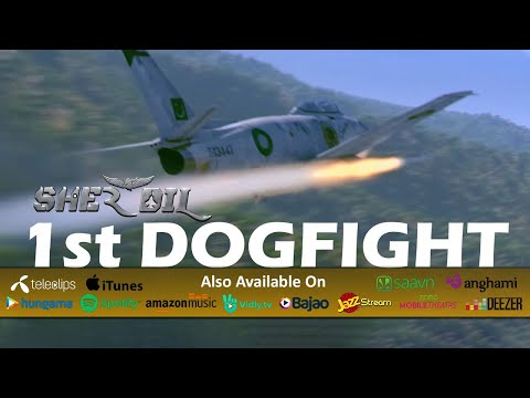 Sher Dil (2019) | First Dogfight Scene | Released 7 Weeks Ago & Still In Cinemas Of Pakistan!