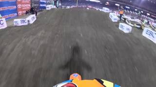 KTM Jr. Supercross Challenge Anaheim 2 - Dylan Drake 1/18/14