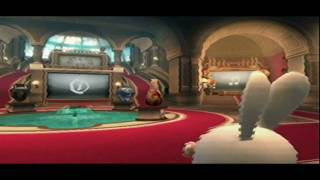 Raving Rabbids Travel In Time - Part 1 - D CLOCKZ R MUNYZ?!?