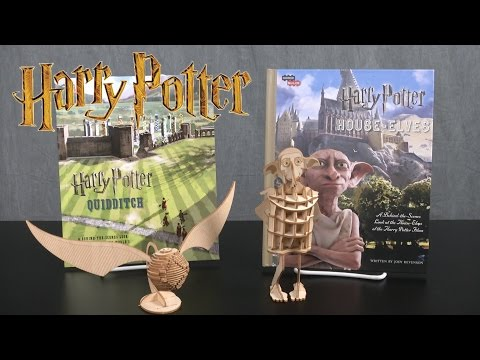 Harry Potter House Elves & Golden Snitch from Incredibuilds
