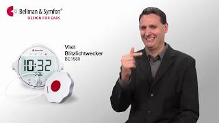 Produktvideo zu Bellman Visit 868 digitaler Lichtblitzwecker