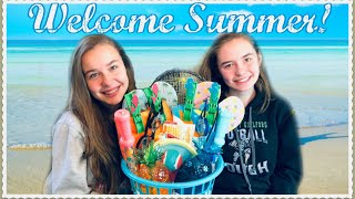 Welcome Summer Gift Basket 💦 | For Kids or Adults