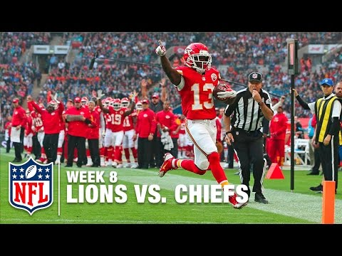 De'Anthony Thomas Speeds Around the Edge for a Touchdown | Lions vs. Chiefs | NFL