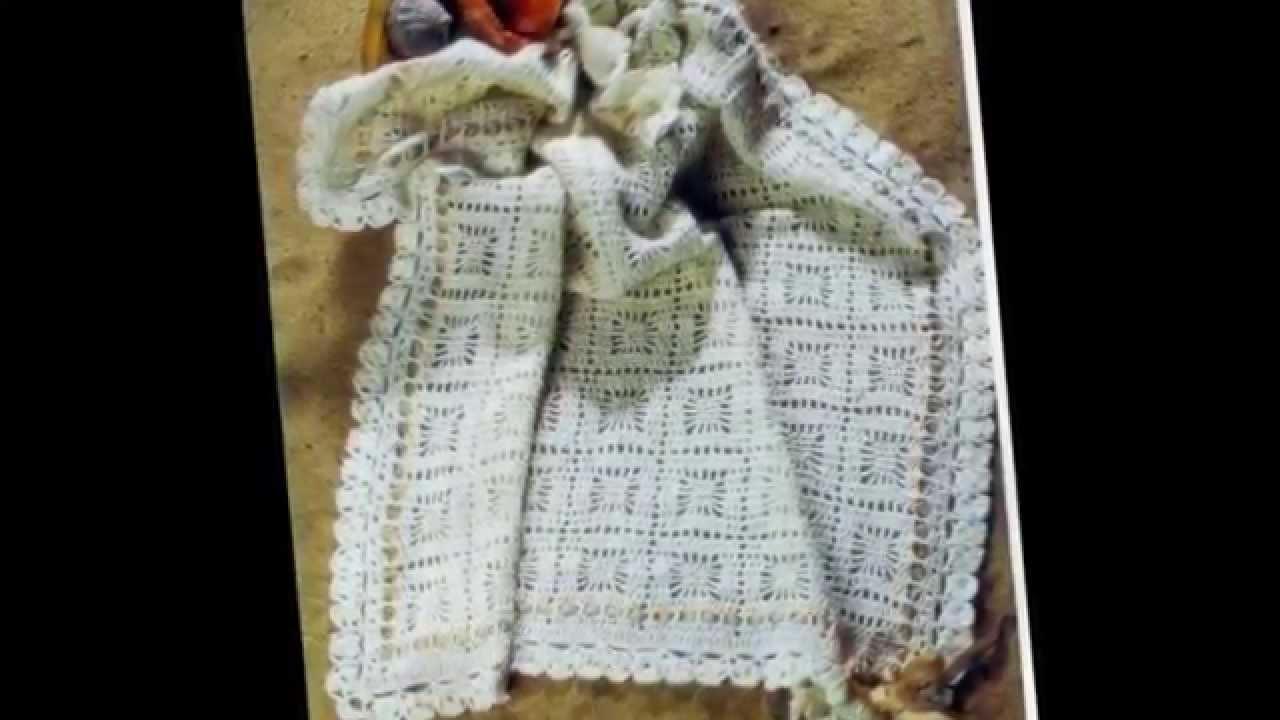 вязаное детское одеяло плед ручной работы Youtube