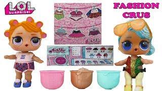LOL Surprise Fashion Crush SERIES 4 |  ВКЛАДЫШ!!!! | Показ мод от куколок ЛОЛ!