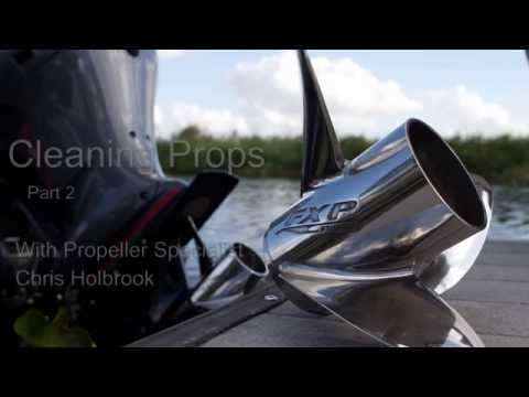Cleaning Your Propeller Pt. 2
