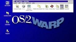Microsoft IBM OS/2 Warp 4 Virtualbox Installation and first look
