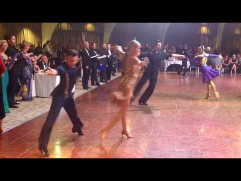 Darren Morrissey & Alisiya Yezhova - The Europa Imperial Championships 2016 Cha-cha
