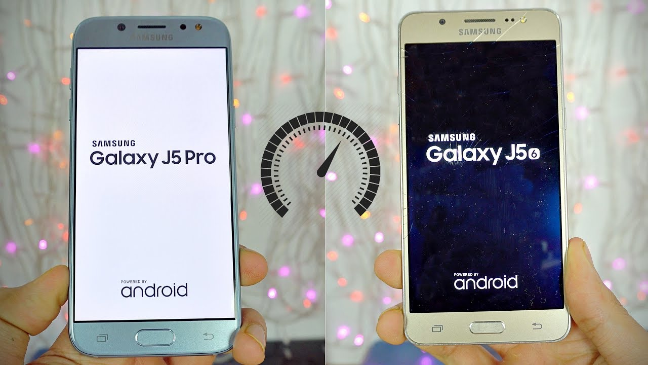 Samsung Galaxy J5 Pro 2017 Vs J5 2016 Speed Test 4k Youtube