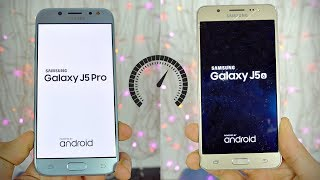 Samsung Galaxy J5 Pro (2017) vs J5 (2016) - Speed Test! (4K)