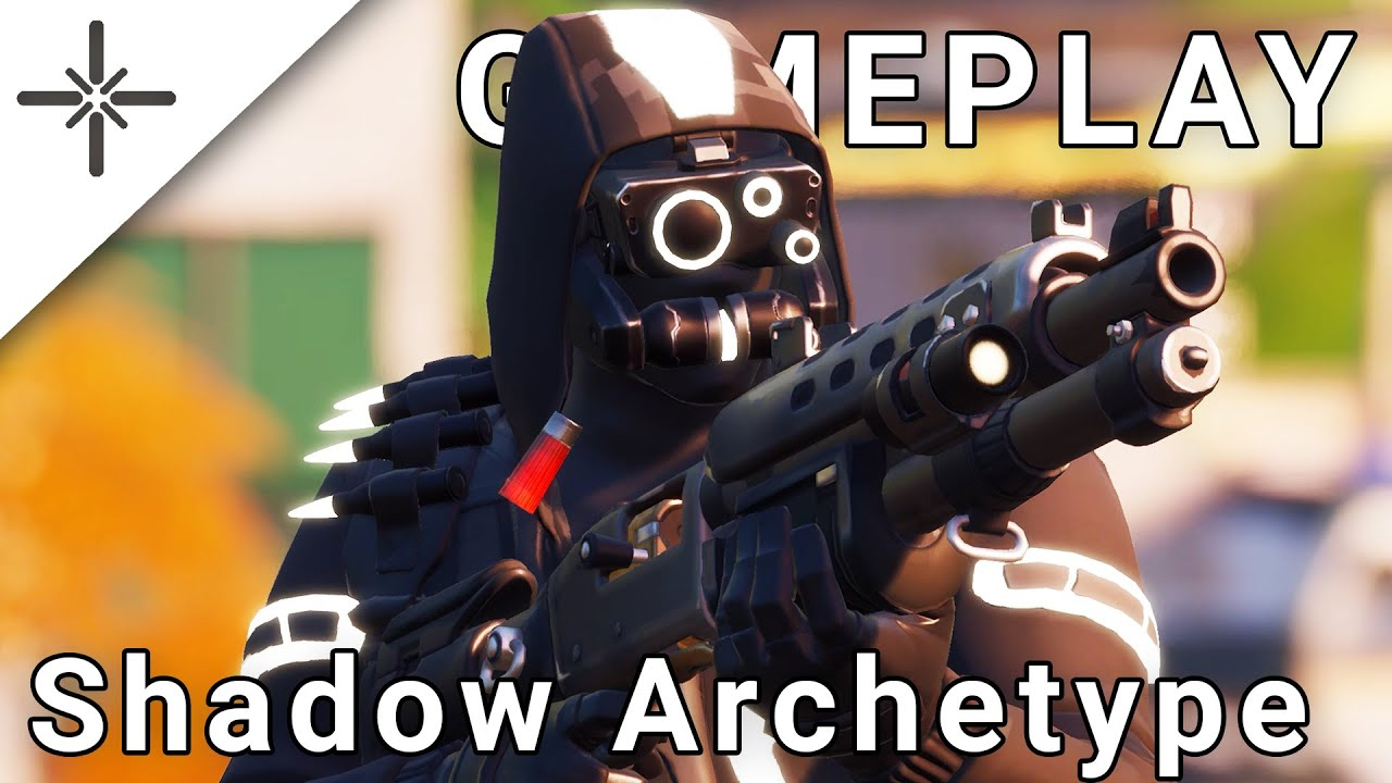 The Shadow Archetype Skin has been in the Fortnite Files for 6 Months, here is some LEAKED Gameplay!