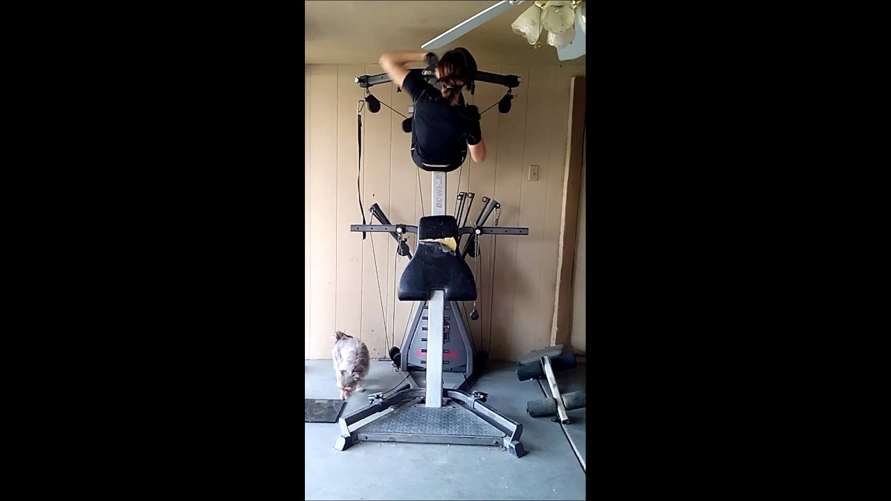 Best ab workout with bowflex - YouTube