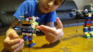 Parsa's Lego Robot and My Mum's Lego Robot- Which one do you think is better?