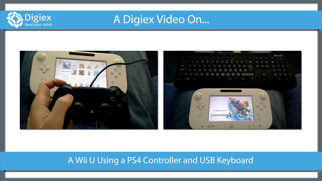 PS4 Controller on a Wii U - Nintendo Console - Neowin