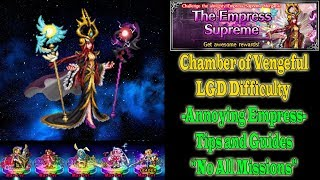 ffbe chamber of the vengeful empress morgana lgd difficulty 854
