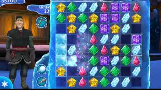 Frozen Free Fall    How To Do Level 85 Very Easy