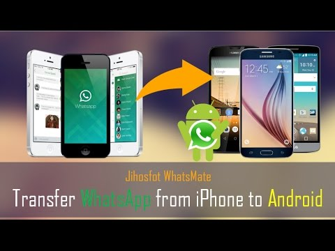 how to transfer iphone to android how to transfer whatsapp data from iphone to android 6683