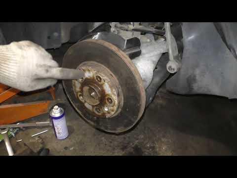 VW Polo Sedan & Skoda Rapid - Замена тормозных дисков