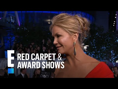 Nancy O'Dell on the red carpet  E! People's Choice Awards