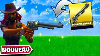 New! The Last Word Pistol Must Take It Fortnite Save the World