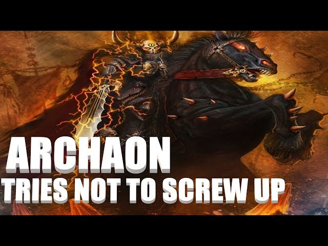 Warhammer 2 Livestream - Archaon Chaos Campaign
