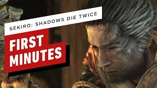 The First 16 Minutes of Sekiro: Shadows Die Twice Gameplay (1080p 60fps)