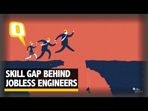 Unemployment in India: Engineers Struggling Due to Skill Gap | The Quint