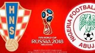 Croatia vs. nigeria | fifa world cup russia 2018 | pes 2018