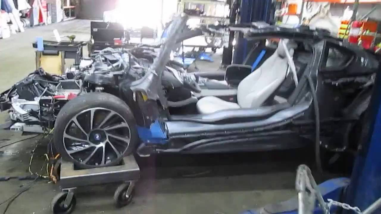 2015 Bmw I8 1 5l Parts Vehicle Electrical Component Test 160605