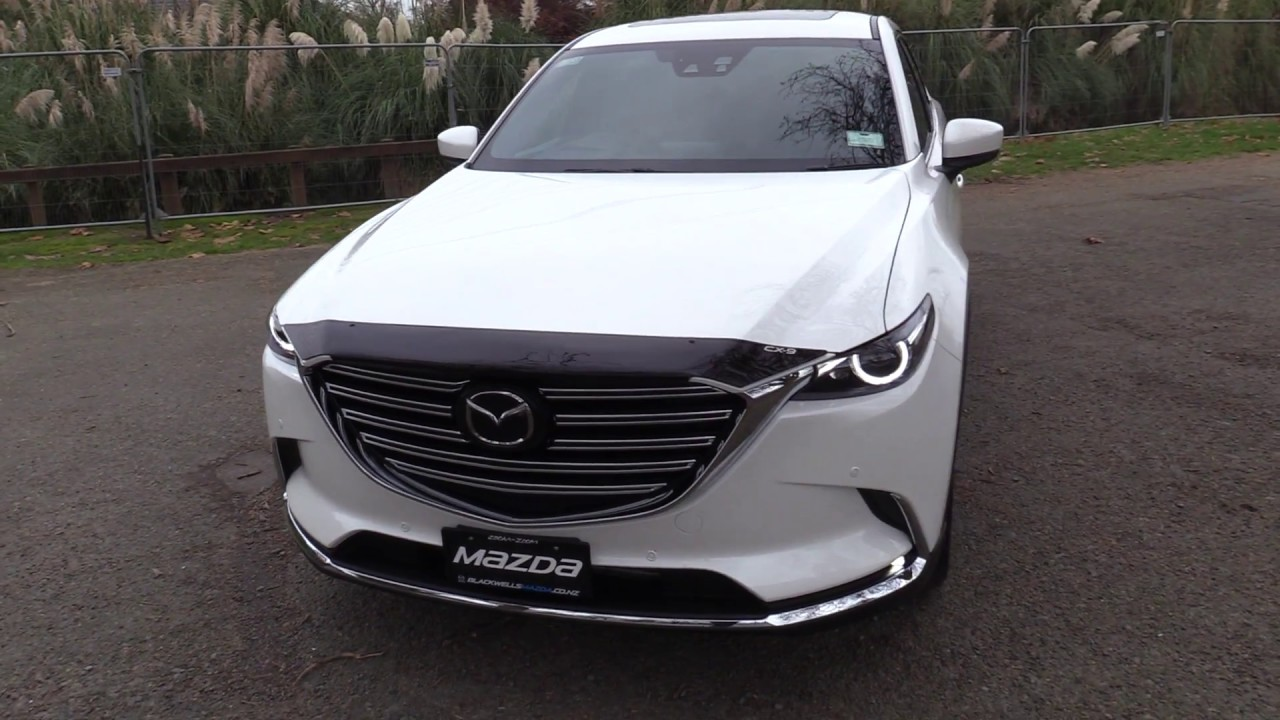 Brand New 2017 Mazda Cx 9 Limited Presentation Snowflake White